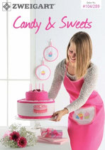 ZWEIGART Candy & Sweets 104/289