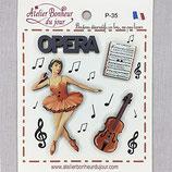 Knopfkollektion P-35 Opera