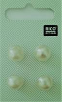 Knopf div. Hersteller Rico Knopfperlen