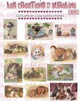 Bügeltransfer Les petits chats