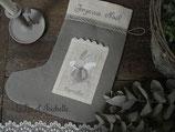 Lin d'Isabelle  - Botte de Noel lapin