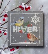 Rigeade - les oiseaux en hiver