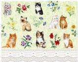 Grußkarte Katzen
