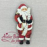 Knopf Weihnachtsmann 25
