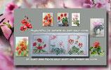 Rigeade - 3 fleurs, 3 rouges