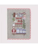 LBdD - Protège Cahier Secrets de Cuisine