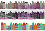 Bügeltransfer Les maison d´ Amsterdam