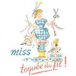 les Brodeuses Parisiennes N° 1 Miss Toquée du fil