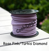 Rose Pink/Türkis Diamond
