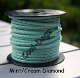 Mint/Cream Diamond