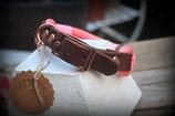 Premium Tau Halsband mit Lederadapter 46-48cm HU