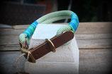 Premium Tau Halsband Lederadapter verstellbar von 40-46cm HU