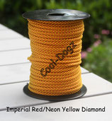 Imperial Red/Neon Yellow Diamond
