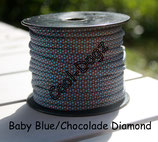 Baby Blue/Chocolate Diamond