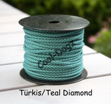 Türkis/Teal Diamond