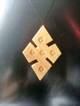 Croix en bois éthiopienne Losange