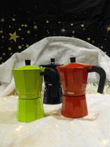 """Cafetière Italienne """"MONIX"""" Lima, Fresa ou Cobalto - 6 Tasses"""