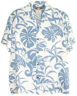 【332-0030】レンタルーアロハシャツ(ブルー)