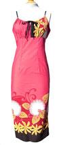 【111-0029】ストラップリボンドレス (ピンク)