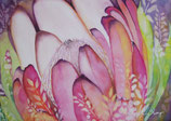 【184-0023】Hawaiian art (Maui Protea)