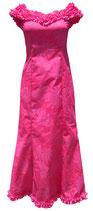 【111-0025】SALE フリルハワイアンムームー(ピンク)