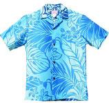 【112-0003】SALE アロハシャツ(ブルー)