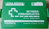 Betriebs-Verbandkasten grün inkl. Wandhalterung