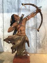 indiaan met boog