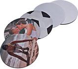 Sublistar® Textil-Mousepads, Größe Ø 190 mm - 2 Stück