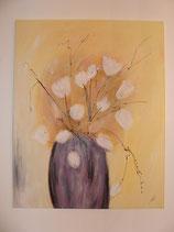 "Acryl Bild ""Blumen in der Vase"" Art.Nr. BI002"