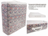 Transparente Aufbewahrungstasche OHNE Kissen
