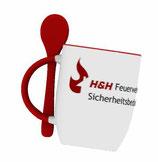 H&H Tasse mit Löffel