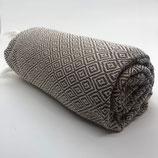Hammam Handtuch Beige / braun