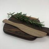 Buttermesser Walnuss Holz