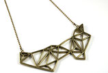 Geometric necklace big
