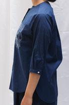 18.SH039-36-A4 衿なしシャツ