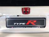 Type R Kennzeichenschild
