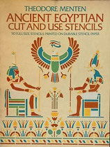 Ancient Egyptian Cut and Use Stencils 古代エジプトのカットとステンシル  Dover