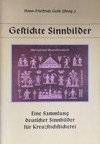 Gestickte Sinnbilder  シンボル刺繍 ドイツ語