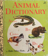 Animal Dictionary    a Little Golden Book ロジャンコフスキー