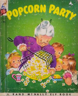 Popcorn Party    ポップコーン パーティー   Rand McNally Elf Book