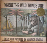 WHERE THE WILD THINGS ARE      MAURICE SENDAK  かいじゅうたちのいるところ センダック