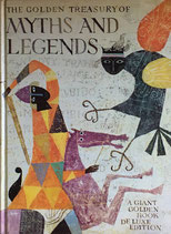 THE GOLDEN TREASURY OF MYTHS AND LEGENDS A Giant Golden Book De Luxe Edition Alice and Martin Provensen