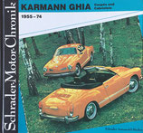 KARMANNGHIA Coupes und Cabriolets 1955-74 Schrader-Motor-Chronik Bd44