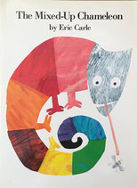The Mixed-Up Chameleon Eric Carle  エリック・カール