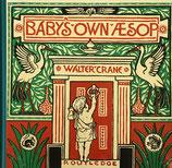 幼な子のイソップ ウォルター・クレイン The Baby's own Aesop オズボーン・コレクション