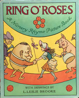 RING O'ROSES Nursery Rhyme Picture Book レスリー・ブルック