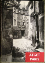 ATGET PARIS  postcard book