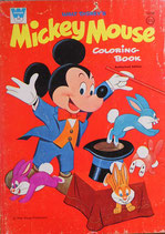 Walt Disney Micker Mouse Coloring Book Authorized Edition ミッキーマウス カラーリングブック