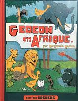 GEDEON en AFRIQUE par Benjamin RABIER editions HOEBEKE